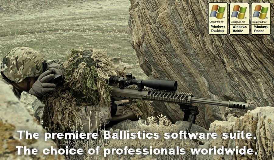 ballistics software loadbase by patagonia ballistics, the complet solution to predict accurate shot, ballistic software all in one